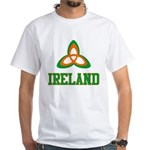 Irish Trinity White T-Shirt