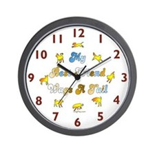Best Friend Wags Wall Clock
