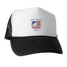 Rick Santorum 08 (eagle) Trucker Hat