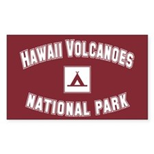 Hawaii Volcanoes National Park Sticker (Rectangula