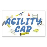 Agility Car Rectangle Decal