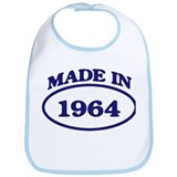 Made in 1964 Bib