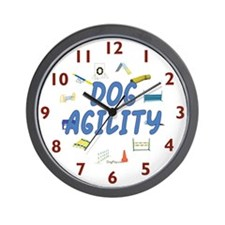 Dog Agility Wall Clock