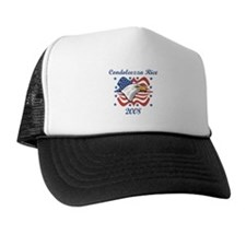 Condoleezza Rice 08 (eagle) Trucker Hat