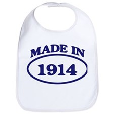 Made in 1914 Bib
