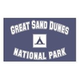 Great Sand Dunes National Park Sticker (Rectangula