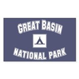 Great Basin National Park Rectangle Decal