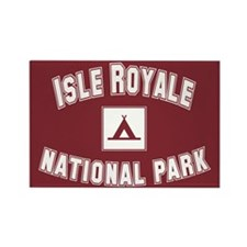 Isle Royale National Park Rectangle Magnet