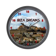 Ibiza Dreams Wall Clock