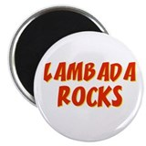 Lambada Rocks 2.25&quot; Magnet (10 pack)