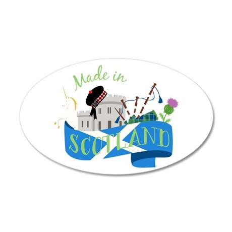 Made In Scotland Wall Decal
