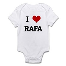 I Love RAFA Infant Bodysuit