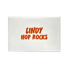 Lindy Hop Rocks Rectangle Magnet