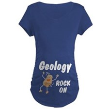 Geology, Rock On Belly Image T-Shirt