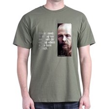 "Dostoevsky ""Succeeds"" T-Shirt"