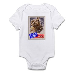 Out of the Way! Infant Bodysuit