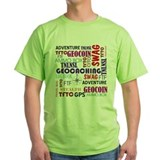 Geocaching Words T-Shirt