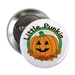 "Little Pumpkin 2.25"" Button (10 pack)"