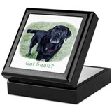Got Treats? Lab Keepsake Box