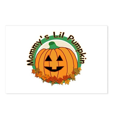 Mommy's Lil Pumpkin Postcards (Package of 8)