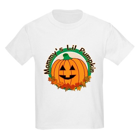 Mommy's Lil Pumpkin Kids Light T-Shirt