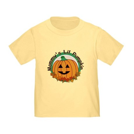 Mommy's Lil Pumpkin Toddler T-Shirt