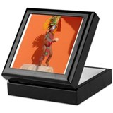 Costa Mayan Dancer Keepsake Box