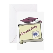 Accounting Degree Greeting Card