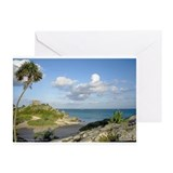 Beach at Tulum Greeting Cards (Pk of 10)
