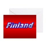 "Pkg of 20-5""x7"" Finland Gill Sans Greeting Cards"