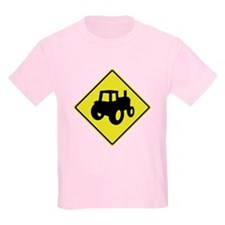 Tractor Crossing 1 T-Shirt