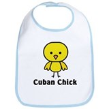 Cuban Chick Bib