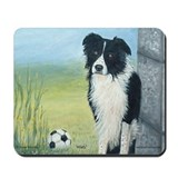 Border Collie Misty Mousepad