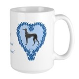 Greyhound Valentine Shop Mug