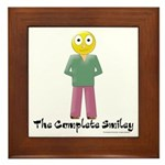 The Complete Smiley Framed Tile