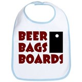Beer Bags Boards Bib