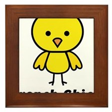 French Chick Framed Tile
