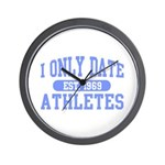 Only Date Athletes Wall Clock
