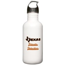 Texas Private Detectiv Water Bottle
