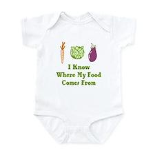 My Food Infant Bodysuit