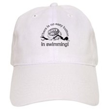 easy button - swimming Baseball Cap