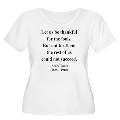 Mark Twain 17 Women's Plus Size Scoop Neck T-Shirt