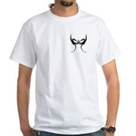 Square and Dragons White T-Shirt