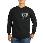 Square and Dragons Long Sleeve Dark T-Shirt