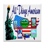 All Things American Tile Coaster
