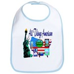 All Things American Bib