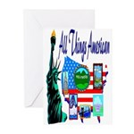 All Things American Greeting Cards (Pk of 10)