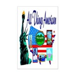 All Things American Mini Poster Print