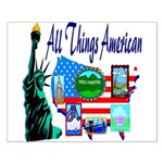 All Things American Small Poster
