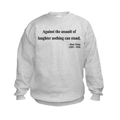 Mark Twain 22 Kids Sweatshirt